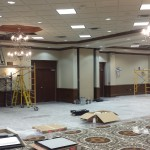 Cary ballroom renovation and audio/visual installation