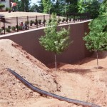 Raleigh Concrete Retaining Wall